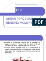 Chapter 2 - Shear Force and Bending Moment