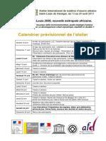 Programme Atelier SaintLouis