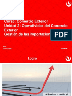 Impo y Expo en El Peru Procesos