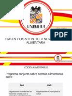 Exposicion Codex Alimentarius