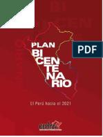 Plan Bicentenario (Peru Hacia El 2021) Version Final