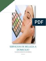 Servicio de Estética a Domicilio