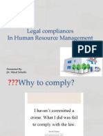 HR- Legal Compliances