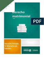Derecho Matrimonial (1)