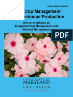 Total Crop Management for Greenhouse Production