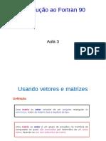 Fortran Aula3