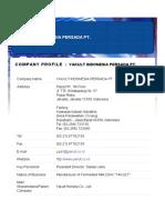 e Catalogue of Yakult Indonesia Persada Pt