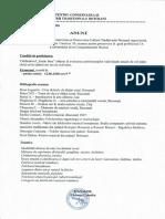 Examen pentru promovarea în grad profesional 1A a referentului de la Compartimentul Muzică