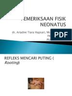 k12 - Pemeriksaan Fisik Neonatus