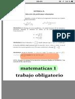 Practica de matemáticas 1