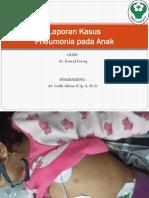 Laporan Kasus Pneumonia Anak