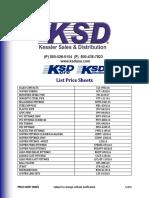 KSD Product Catalog