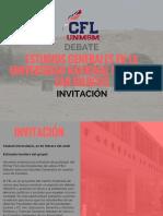 Modelo de Invitación Al Fel