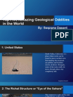 Amazing Geological Oddities by Seqzane Dasent