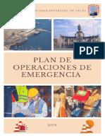 Plan de Operaciones de Emergencia 2018