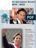 Gobiernodealejandrotoledo2001 2006diapositivas 130106135329 Phpapp02