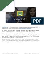 1-Que Es Google Classroom