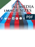 Social Media Image Sizes 2017 a4 Print Ready