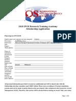 ApplicationFormScholarship2018IPOS JUne Psycho-Oncology .Gabriel CVoicu.595