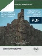 Revalora La Cultura Maya Desde Su Tradición Oral y Escrita