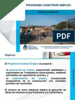 PP Construir Empleo DNPE 2016
