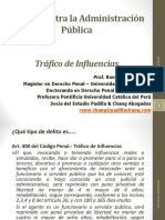 Trafico de Influencias - Diapositivas