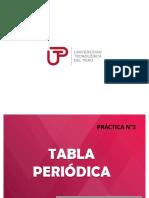 Diapositiva  N°3 TABLA PERIÓDICA