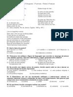prova de portugues 4º período-finanças e redes .odt