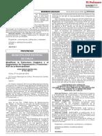 Modifican la Estructura Orgánica y el Reglamento de Organización y Funciones - ROF de la Municipalidad