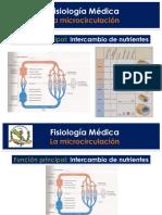Clase 2 Fisiologia de La Microcirculacion (1)