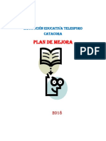 Plan de Mejora 2017