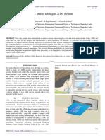 Bio- Matric Intelligent ATM System