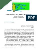 María José Borja_ El Latido Erótico de La Palabra en Mandorla -Nº 21 Espéculo (UCM)