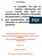 Clases 5 y 6 (Mineral II)