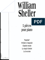 William Sheller - Pièces Pour Piano (Volume 4)