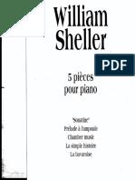 William Sheller - Pièces Pour Piano (Volume 4)