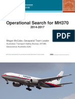 Operational Search for MH370 2014-2017