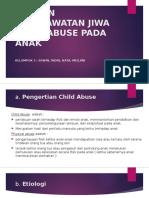 Asuhan Keperawatan Jiwa Child Abuse Pada Anak