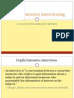 Depth Interviews.pptx