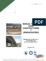 Manual Tecnico Para Constructores Y Urbanizadores EAAV ESP