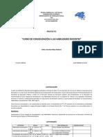 Proyecto Consolidación a Las Habilidades Docentes