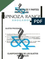 CLASE 6 - SUJETOS Y PARTES PROCESALES (1).pptx