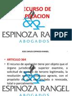 CLASE 15 - RECURSO DE APELACION (PARTE 2).pptx