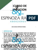CLASE 15 - RECURSO DE REPOSICION (PARTE 3) (1).pptx
