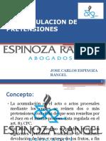 CLASE 7 - LA ACUMULACION DE PRETENSIONES (1).ppt