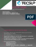 Funcionamiento de Motor Diesel- Tecnicas