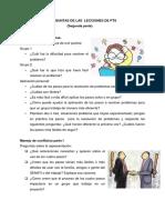 Preguntas de Las Lecciones de Pt1-1