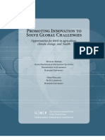 Promoting Innovation to Solve Global Challenges