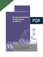 El juez de ejecucion de sanciones en Mexico - Nimrod Champo.pdf