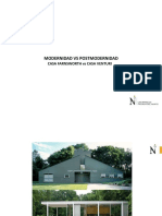 Modernidad vs Postmodernidad